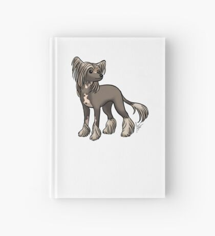 Chinese Crested Hardcover Journal