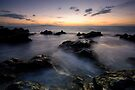 Blue and Gold, Maui by Michael Treloar