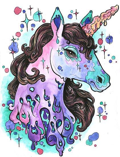 Melting Unicorn by Seahorse Carousel