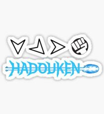 Hadouken Shirt Sticker