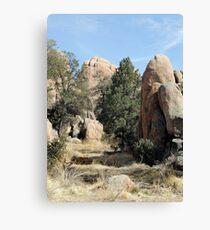 Prescott Boulders Canvas Print