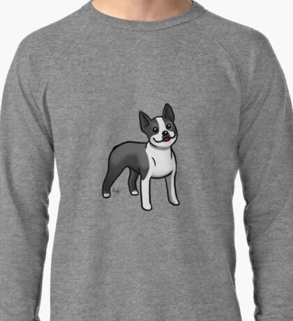 Boston Terrier Lightweight Sweatshirt
