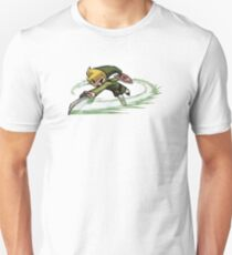 Link fighting with sword T-Shirt
