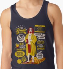 The Dude Quotes Tank Top
