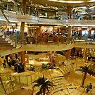 Cruise ship panorama by PhotosByG