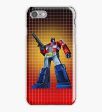 Optimus Prime - G1 Style Backdrop iPhone Case/Skin