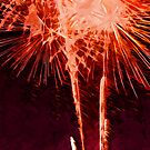 Fireworks Abstract Impressionism by pjwuebker