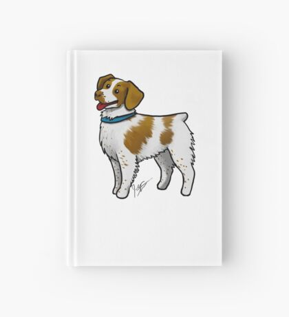 Brittany Spaniel Hardcover Journal