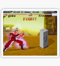 freezer Sticker