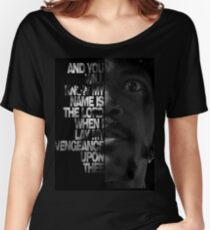 Samuel L Jackson Monologue Women's Relaxed Fit T-Shirt