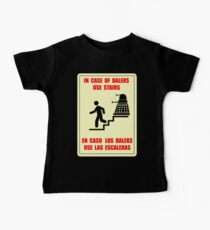 In Case of Daleks Use Stairs Baby Tee