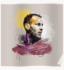 Ryan Giggs (MUFC) Painting Poster