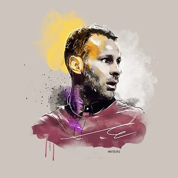Ryan Giggs (MUFC) Painting by UNITEEDS