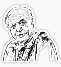 David Attenborough's Bug Sticker
