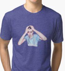 Conscience (self-portrait) Tri-blend T-Shirt