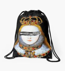 Good Queen Bess Drawstring Bag