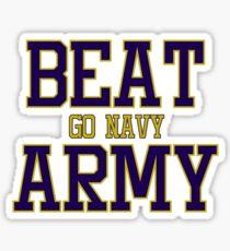 Pegatina Go Navy Beat Army