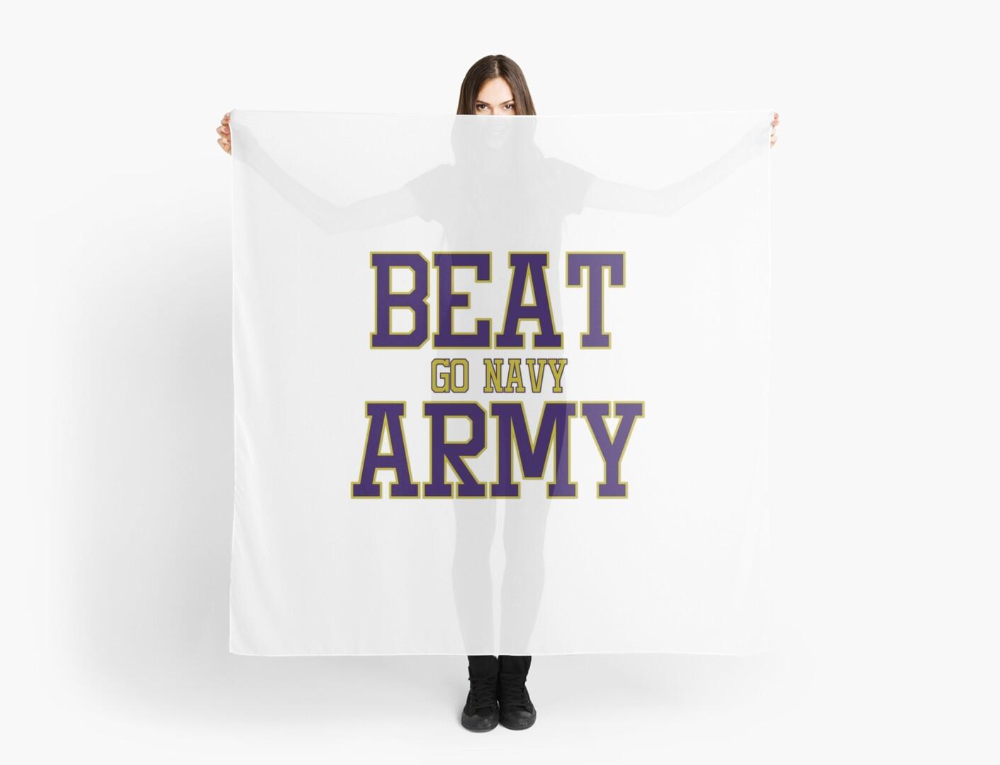 Go Army Beat Navy Scarf Army Scarf