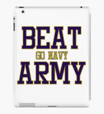 Go Navy Beat Army iPad Case/Skin