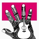 The Hand guitar by aDanidesign