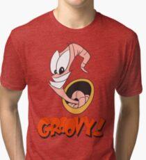 Earthworm Jim v2 Tri-blend T-Shirt