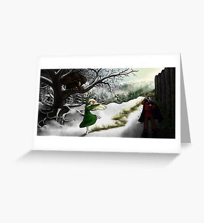 Idunn and Loki: Midwinter Meander Greeting Card