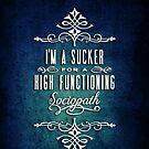 High Functioning Sociopath by starrygazer