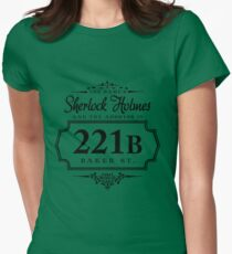 The name's Sherlock Holmes Women's Fitted T-Shirt