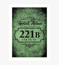 The name's Sherlock Holmes Art Print