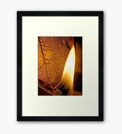 Counting Rivers Framed Print