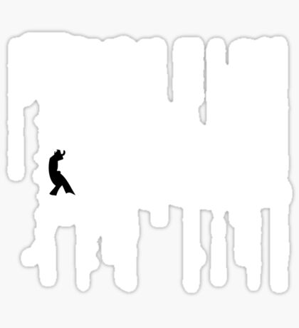 The Matrix - Minimal T-Shirt (No Title) Sticker