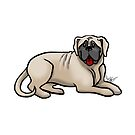Bull Mastiff by Jennifer Stolzer