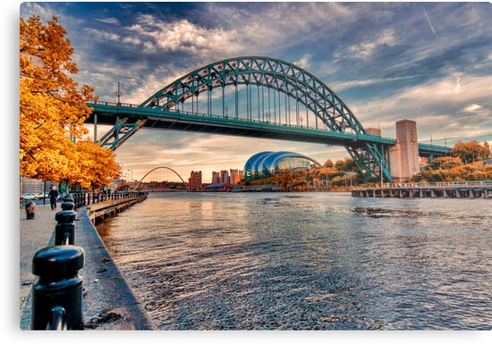 Autumn on the River Tyne by Trevor Kersley