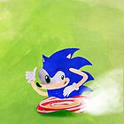 Blue Hedgehog by Kitty Rispens
