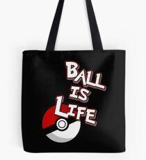 Poke-Ball is Life Tote Bag