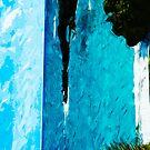 Black Sand Beach on the Road to Hana Maui Abstract Impressionism by pjwuebker