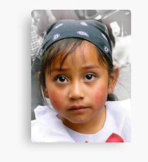 Cuenca Kids 373 Canvas Print