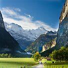 Lauterbrunen Valley, Switzerland by David Galson