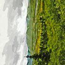 Overcast at Denali National Park Alaska Abstract Impressionism by pjwuebker