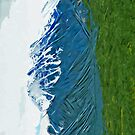 Denali With Rivers Alaska Abstract Impressionism by pjwuebker