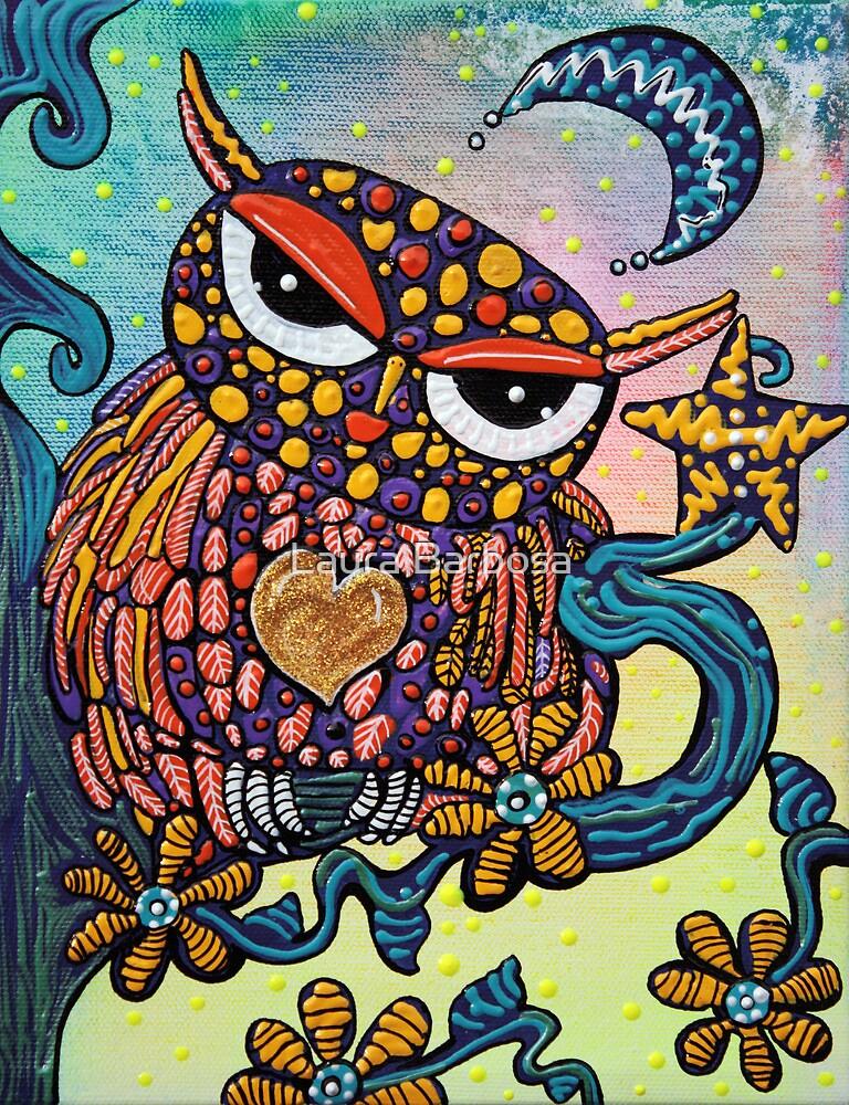 Mystical Owl by Laura Barbosa