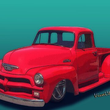54 Chevy Pickup Get Down Outta Town by ChasSinklier