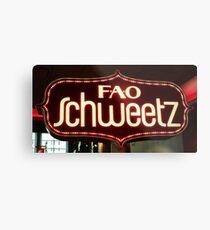 FAO Schweetz Metal Print