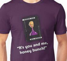 Clue - Professor Plum Honey Bunch Unisex T-Shirt