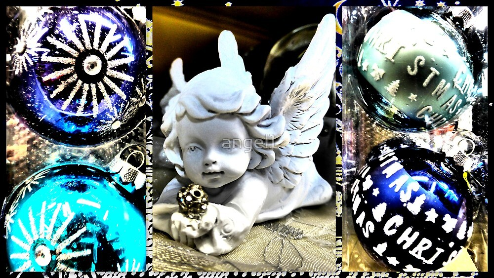 Christmas Angel with diamond by ©The Creative  Minds