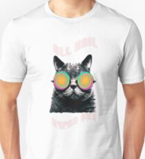 All Hail Hypno Cat!  Unisex T-Shirt