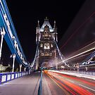 Light Trails by Stuart  Gennery