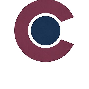 Colorado Avalanche Alternate Logo Vintage Rockies by rcvan