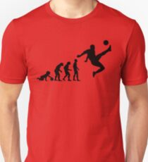 Football Evolution Unisex T-Shirt