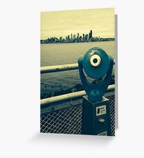 """Alki Beach"" Greeting Card"